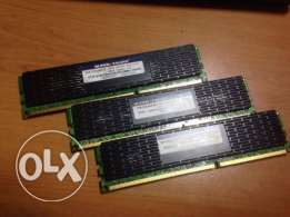 Kit 3 * 2Gb DDR3 RAM Super Talent 1333