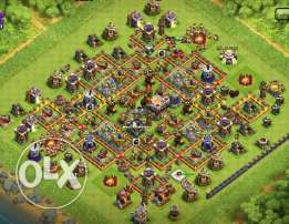 Clash of clans account with email Max TH and almost max everything