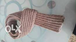 Scarf crochet for men and wool Turkey