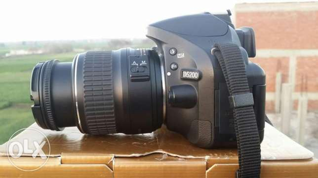 Nikon d5200 + lens 18.55 vr2 . Shutter 14k only. Very good condition