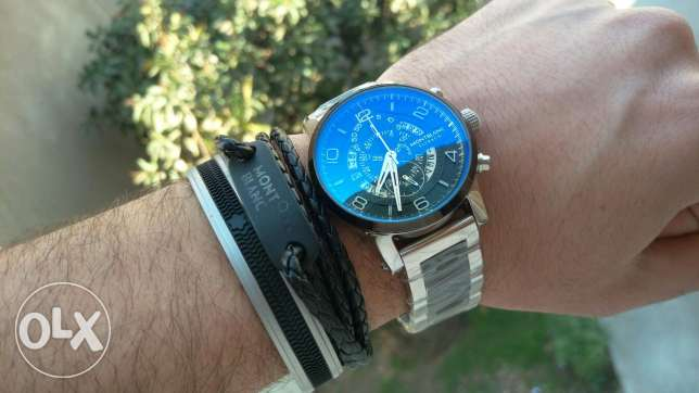 Mont blanc metal watch