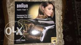 BRAUN hair dryer
