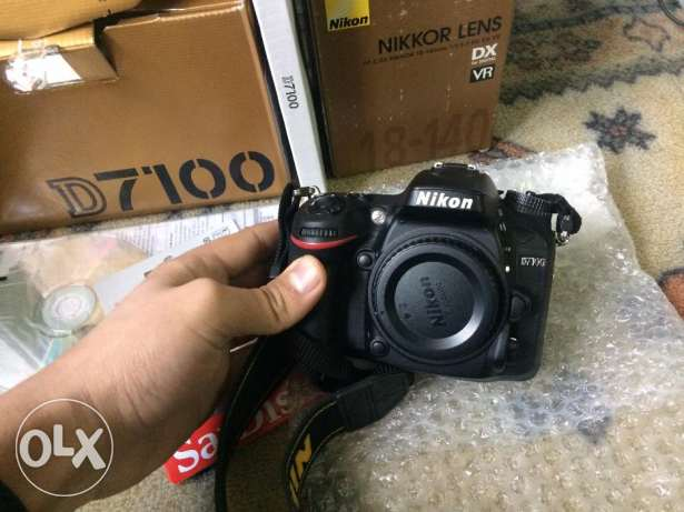 For sale body Nikon D7100 used only two monthes وسط القاهرة -  1
