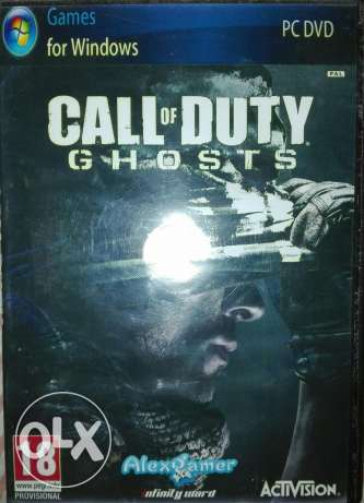 Call Of Duty Ghosts Pc DVD مدينة نصر -  1