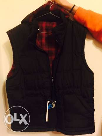 New winter puff vest