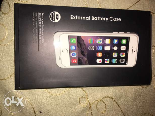 iphone 6 plus or 6s plus battery case 6800 mAh
