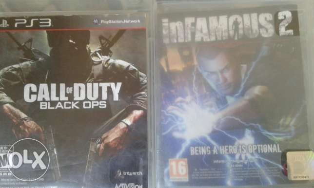Call Of Duty Black Ops & Infamous