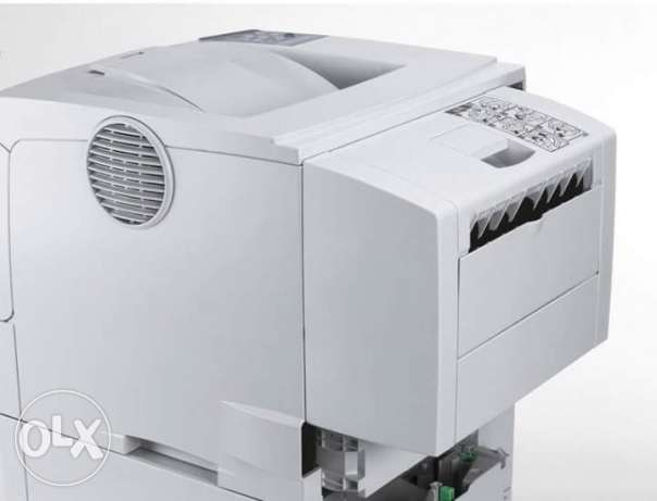Ricoh aficio SP 4210N with duplex+500 A4+6000 papers printing ability.
