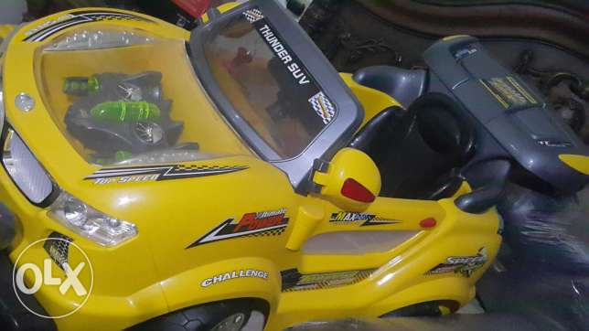 Kids car with electric battery