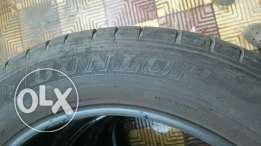4 DUNLOP tyres have a very good condition