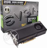 مطلوب EVGA GeForce GTX 650 Ti BOOST Superclocked 2GB