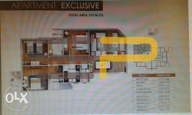 mountain view iCity apartment 165 sqm 35AH18 القاهرة الجديدة -  2