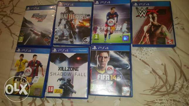 7 Cd playstation4 for sale