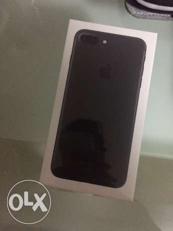 Iphone 7 plus 128gb Matte black NEW مصر الجديدة -  1