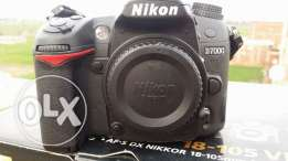 Body nikon d7000 .Shutter 11k only. Like new
