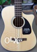 Bass Guitar : Fender cb100ce acoustic Bass