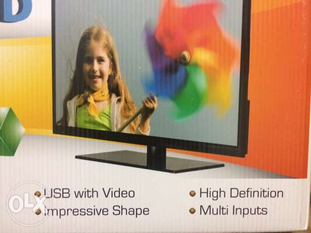 Unionaire led tv 24inch new الإسكندرية -  1