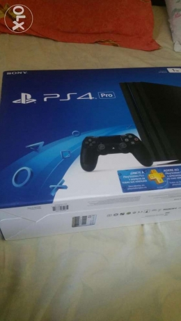 Play station 4 pro seald new ps4 pro playstation