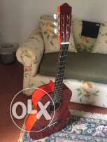 Handmade acoustic guitar with new strings. Stagg Classic Guitar