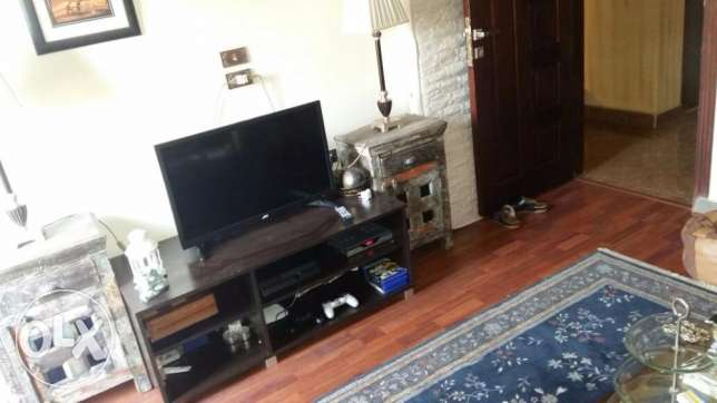 roof Modern furnished flat for rent in Maadi sarayat