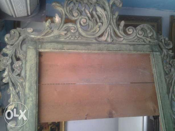 Antique Mirrors. Wood size 260 in 125 cm