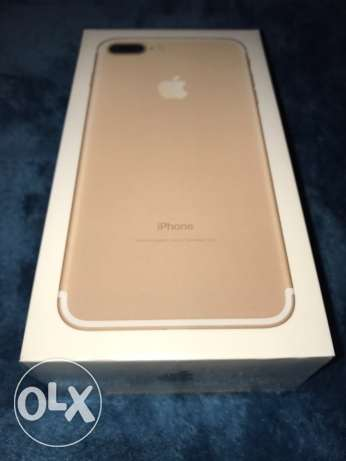 iPhone 7 Plus 128GB Gold New-Sealed