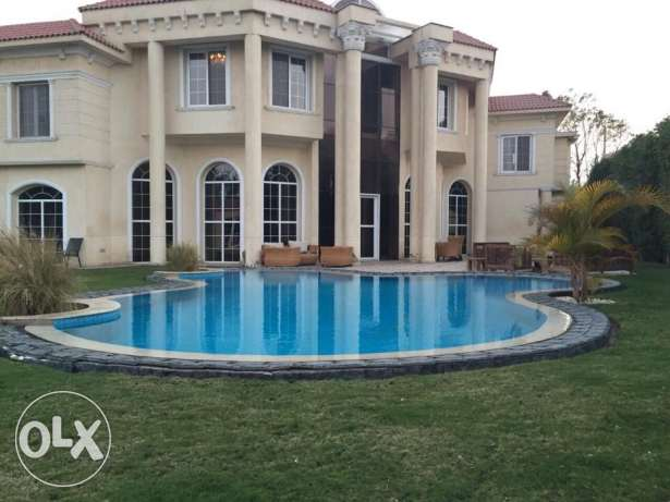 Luxurious standalone in Royal Hills October amazing fully finishing 6 أكتوبر -  2