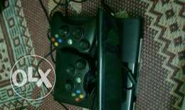 Xbox 360+knicet+2players+Xbox live gold membership one month+6cds