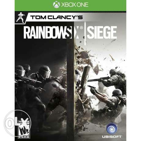 Rainbow six Siege Xbox one (CD)