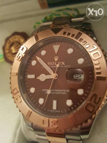 Rolex Yacht Master1 Rose-Gold first copy with box and Int. guarantee القاهرة -  5
