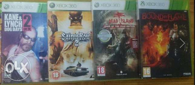 4 XBOX 360 Games For Bundle Sale Price