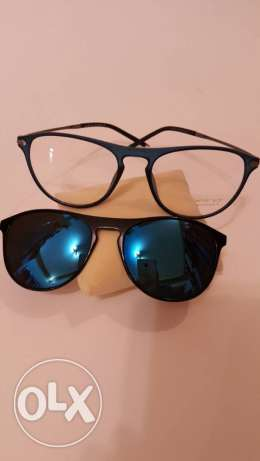 2 in 1 Eye And Sunglasses (Made in italy)