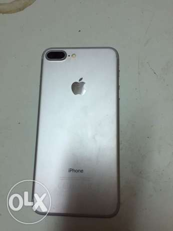 iphone 7 plus 128 giga Silver with faceTime