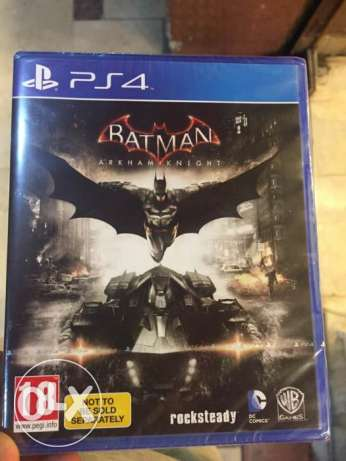 new sealed batman arkham khnight for sale ps4 مدينة نصر -  2