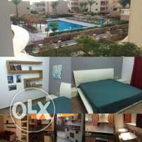 Furnished apartment with pool