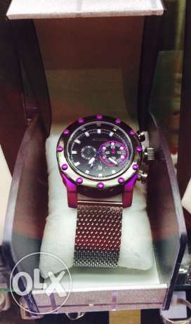 Purple watch full metal watch مدينة دمياط -  1