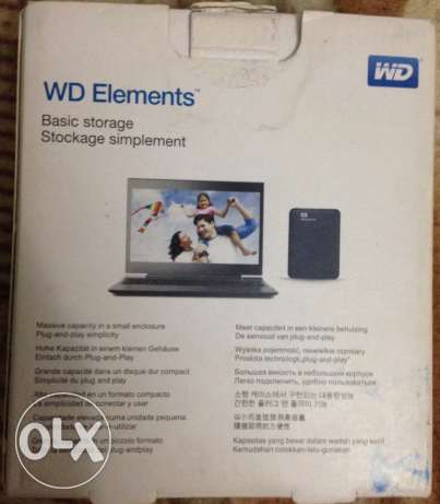 hard external WD ELEMENTS portable drive 1 TB