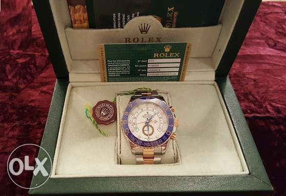 The Only Rolex-Yacht-M2 rose gold with Int. national Guarantee القاهرة -  3