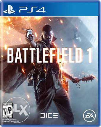 Battle field 1 for sale with a new game