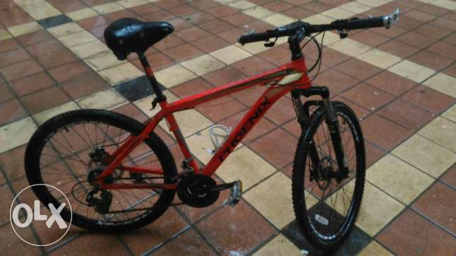 Phoenix mountain bike, Almost not used + a spare wide san remo seat الإسكندرية -  3