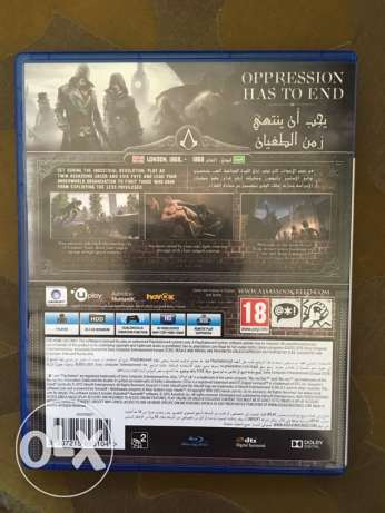 PS4 CD assassins creed كفر عبدو -  2