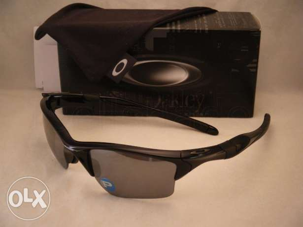 Oakley sunglasses half jacket 2.0 polished black made in usa from Fr