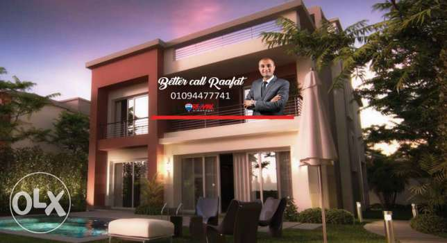 Twin House Villa for Sale in Cairo Festival City New Cairo,