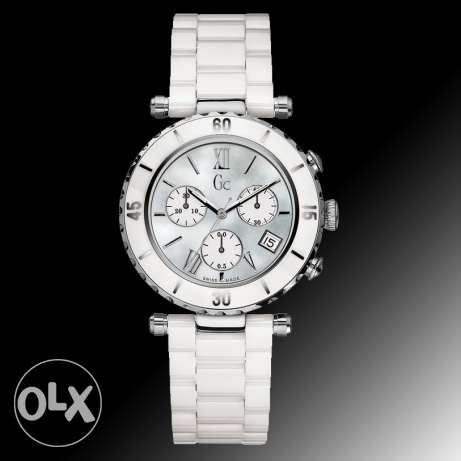 Guess Ceramic watch White Silver