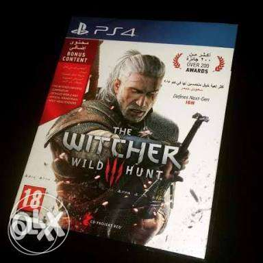 the witcher 3 ps4 عربي