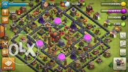 Clash of clans town lvl 10