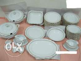Dinnerware Set 66 pieces Made in Czech