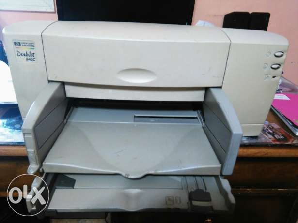 Printer hp desk jet 840c new