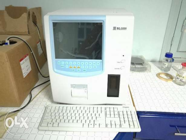 mindray BC 3200 automated hematology analyzer