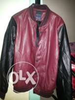 Leather jacket zara